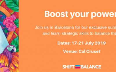 Business Basecamp supports Aurélie Salvaire and Shiftbalance's Summer School in July which will Boost your Power!