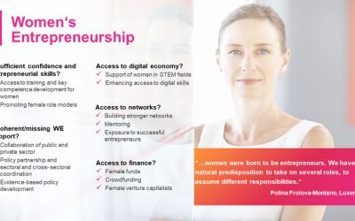 Patricia Zeegers to represent Business Basecamp and the Professional Women's Network at 1st Peer-learning workshop in Women Entrepreneurship